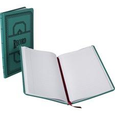 BOR 66150R Boorum 66 Series Blue Canvas Record Books BOR66150R