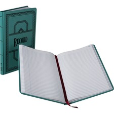 BOR 66300R Boorum 66 Series Blue Canvas Record Books BOR66300R