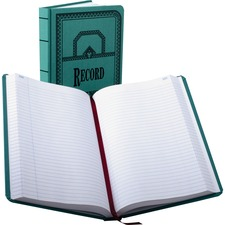 BOR 66500R Boorum 66 Series Blue Canvas Record Books BOR66500R