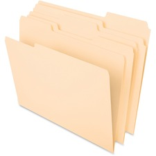 PFX 75213 Pendaflex Essentials 1/3-cut Manila File Folders PFX75213