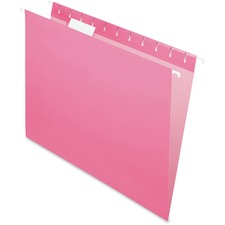 PFX 81609 Pendaflex Essentials Pink Hanging Folder PFX81609