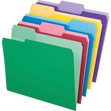 PFX 84370 Pendaflex Erasable Tab File Folders PFX84370