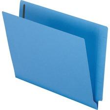 PFX H10U13BL Pendaflex Color End Tab Fastener Folders PFXH10U13BL