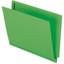 PFX H10U13GR Pendaflex Color End Tab Fastener Folders PFXH10U13GR