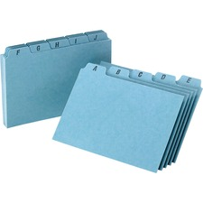 OXF P4625 Oxford A-Z Tabs Index Card Guides OXFP4625