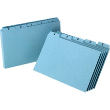OXF P5825 Oxford A-Z Tabs Index Card Guides OXFP5825