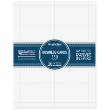 GEO 39051 Geographics Standard Printable Business Cards GEO39051