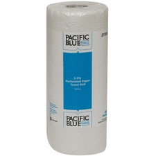 GPC 27385RL Georgia Pacific Blue Select 2-ply Roll Towel GPC27385RL