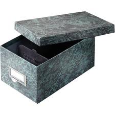 GLW 94GRE Globe Weis Agate Heavy-duty Card File Lid Box GLW94GRE