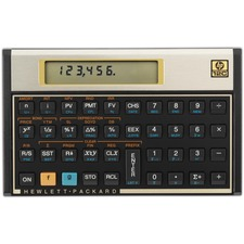 HEW 12C HP 12C Financial Calculator HEW12C