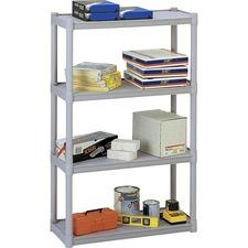 ICE 20843 Iceberg 4-Shelf Open Storage System ICE20843
