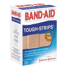 Band-Aid Flexible Tough-Strips Bandages