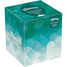 "Kleenex Upright Box Facial Tissue - 8.4"" x 8.6"" - White - 95 Quantity Per Box - 1 Box"