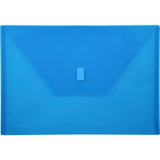 LIO22080BL - Lion Hook and Loop Closure Poly Envelopes
