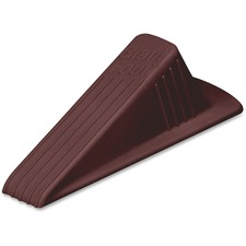 "Master Mfg. Co. Giant Foot® Doorstop, Brown - Giant Foot® Doorstop, 6-3/4"" x 3-1/2"" x 2"", Brown, 1/Pack"