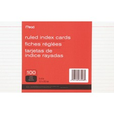 MEA 63008 Mead 90 lb Stock Index Cards MEA63008