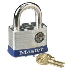 "Master Lock 2"" Steel Security Padlock"