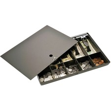 MMF 2252862C04 MMF Industries Cash Drawer Tray w/ Locking Cover MMF2252862C04