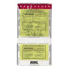 MMF 2362500N20 MMF Industries Tamper Evident Twin Deposit Bags MMF2362500N20