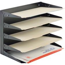 MMF 2645HLBK MMF Industries Horizontal Desk File Trays MMF2645HLBK