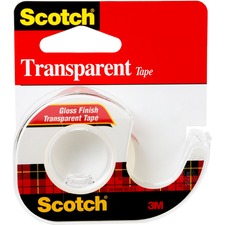 MMM 144 3M Scotch Gloss Finish Transparent Office Tape MMM144