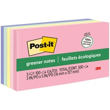 Post-it® 655RPA Adhesive Note