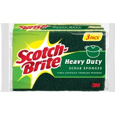 MMM HD3 3M Scotch-Brite Heavy-Duty Scrub Sponge MMMHD3