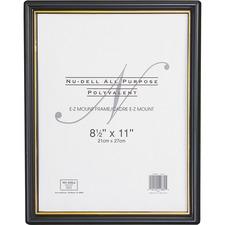 NUD 11818 NuDell EZ Mount Plastic Wall Frame NUD11818