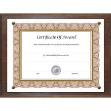 NUD 18811M NuDell Woodgrain Award-A-Plaque  NUD18811M