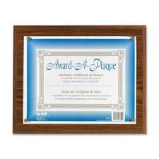 NUD 18812M NuDell Woodgrain Award-A-Plaque  NUD18812M