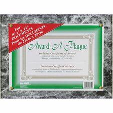 NUD 18815M NuDell Woodgrain Award-A-Plaque  NUD18815M