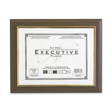 NUD 18851M NuDell Insertable Executive Award Plaque NUD18851M