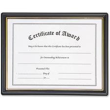 NUD 19210 NuDell Plastic Framed Award Certificate NUD19210