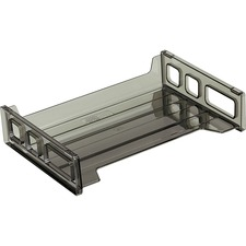 OIC 21001 Officemate Smoke Side-Loading Desk Trays OIC21001