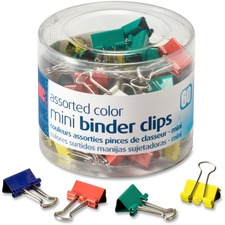 OIC 31024 Officemate Metal Mini Binder Clips OIC31024