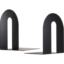 OIC 93142 Officemate Steel Construction Heavy-Duty Bookends OIC93142