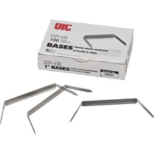 OIC 99853 Officemate Prong Fastener Bases OIC99853