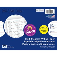 PAC 2420 Pacon Multi-Program Handwriting Papers PAC2420