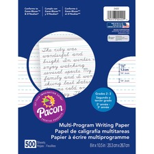 PAC 2422 Pacon Multi-Program Handwriting Papers PAC2422