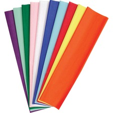 PAC 58970 Pacon Kolorfast Tissue Paper Assortment PAC58970