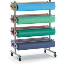 PAC 67780 Pacon Horizontal Art Paper Roll Mobile Rack PAC67780
