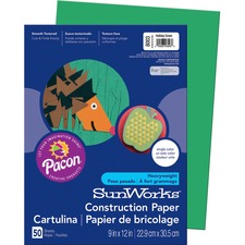 PAC 8003 Pacon SunWorks Groundwood Construction Paper PAC8003