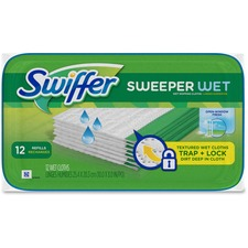 PGC 35154 Procter & Gamble Swiffer Sweeper Wet Cloths PGC35154