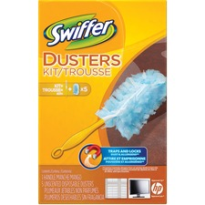 Swiffer Duster - Plastic Handle - 1 Each - Green
