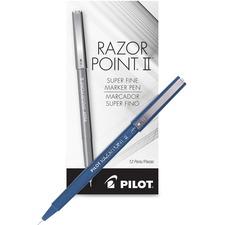 PIL 11003 Pilot Super Fine Point Razor II Markers PIL11003