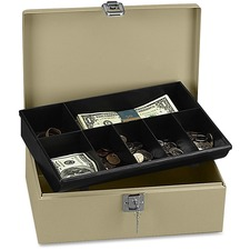PMC 04963 PM Company Securit Lock N' Latch Steel Cash Box PMC04963