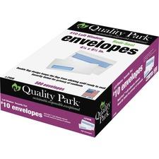 QUA 21418 Quality Park Redi-Seal Security Window Envelopes QUA21418