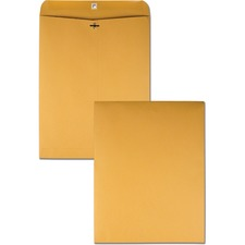QUA 37810 Quality Park Extra Hvy-duty Kraft Clasp Envelopes QUA37810