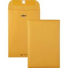 QUA 37855 Quality Park Gummed Kraft Clasp Envelopes QUA37855