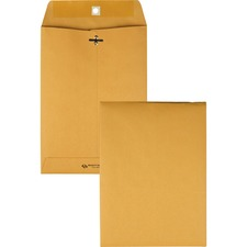 QUA 37875 Quality Park Gummed Kraft Clasp Envelopes QUA37875